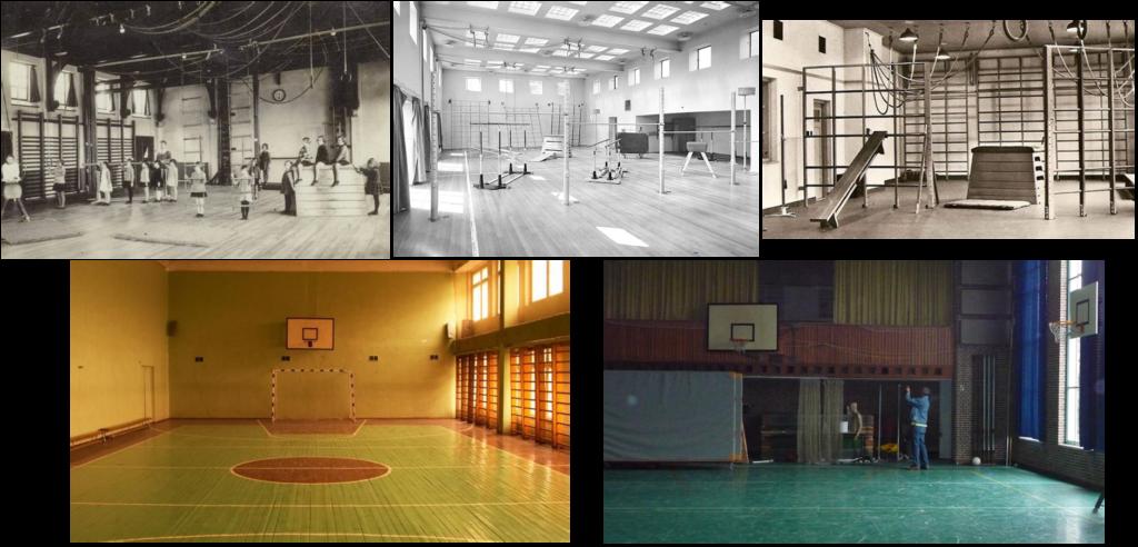 Waarom zien alle gymzalen er nog steeds hetzelfde uit? het nieuwe